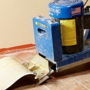 Vinyl Flooring Removal